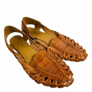 authentic huarache leather sandals made in Mexico